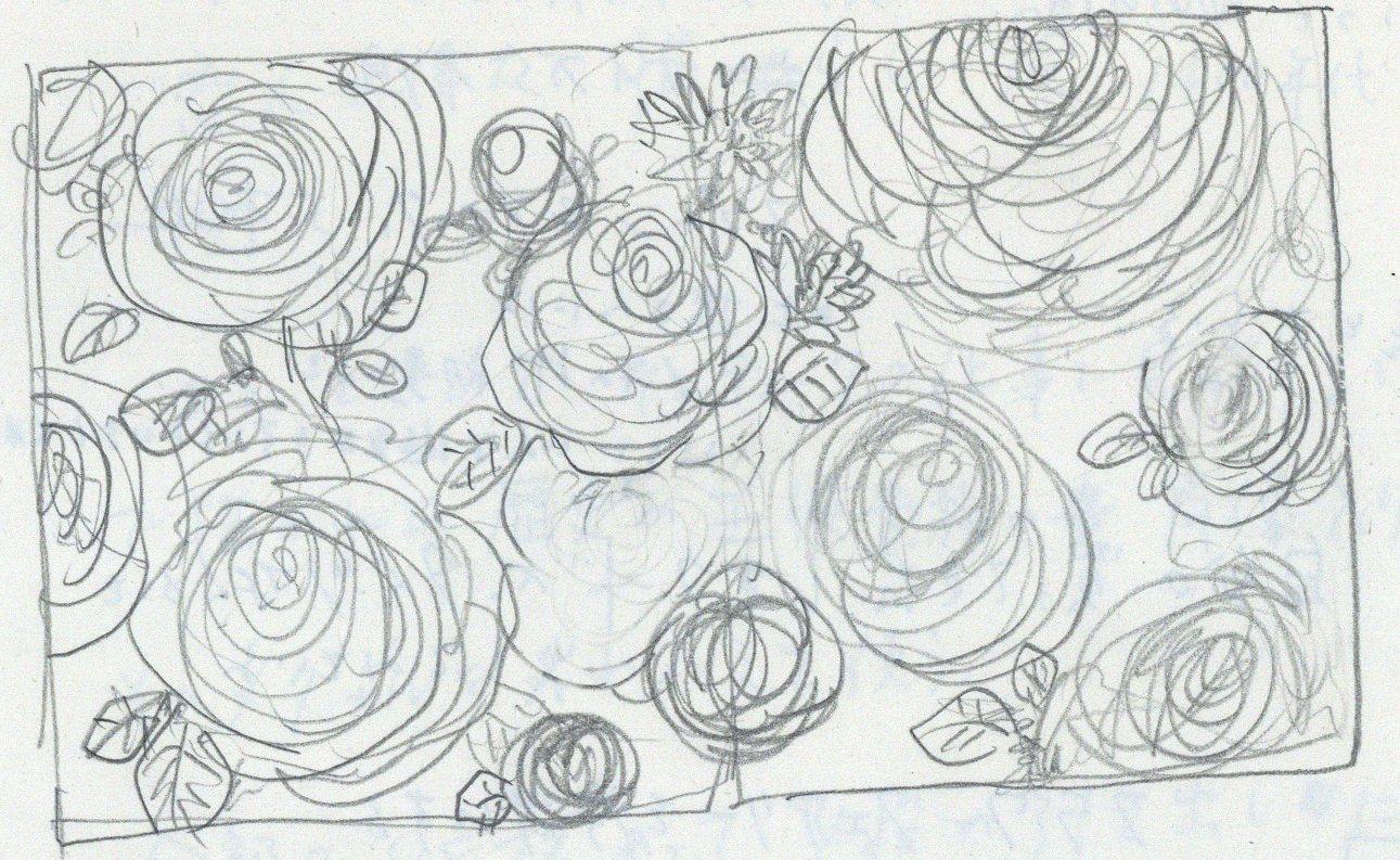 絵を描くときに、緊張するのをなんとかしたい...