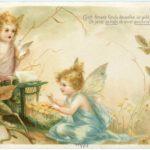 アンティークのポストカードは、アイデアの宝庫。絵本やイラストの参考にもなる。